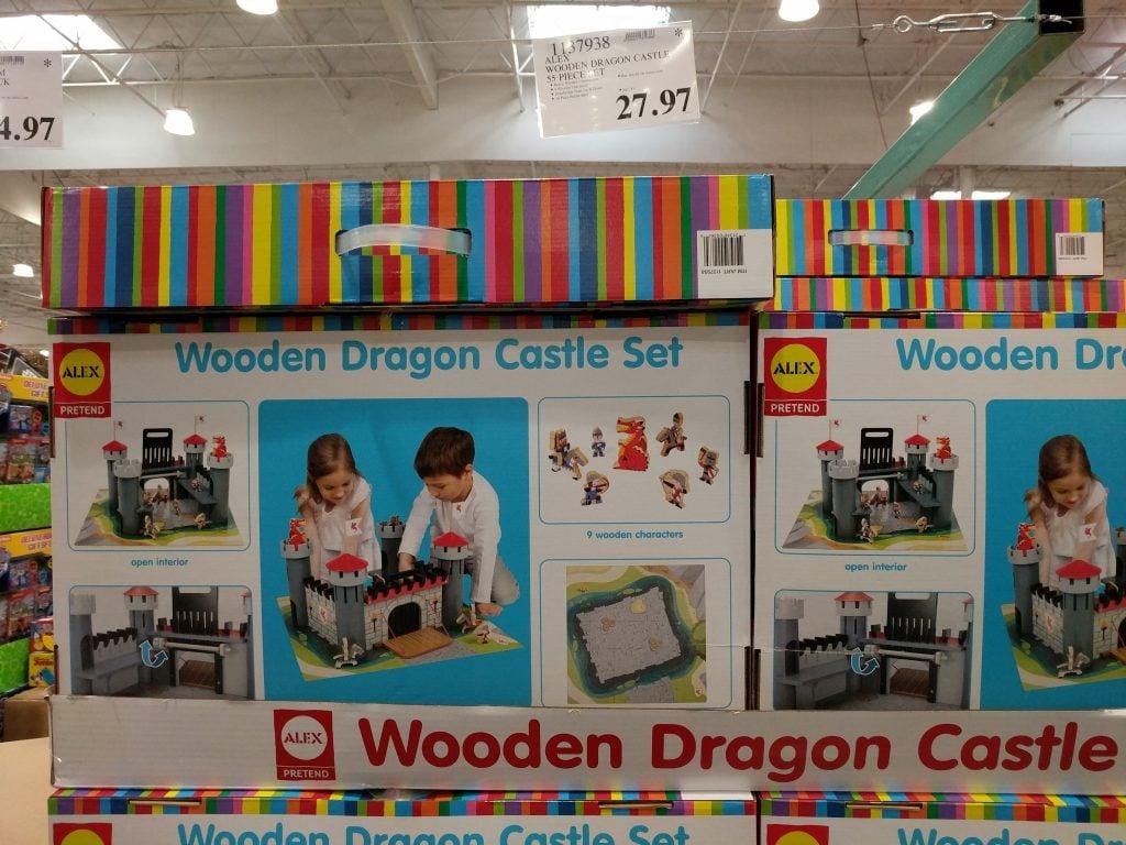 Alex Wooden Dragon Castle 55 Piece Set Costco97com