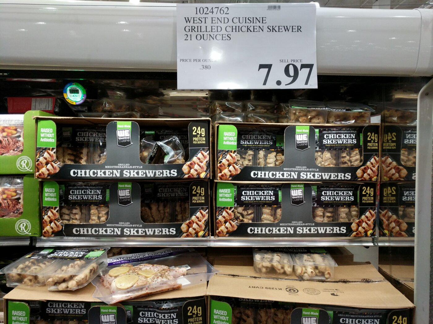West End Cuisine Grilled Chicken Skewers Costco97 Com
