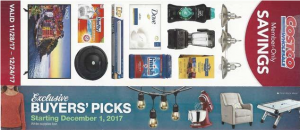 Coscto December 2017 - CouponBook