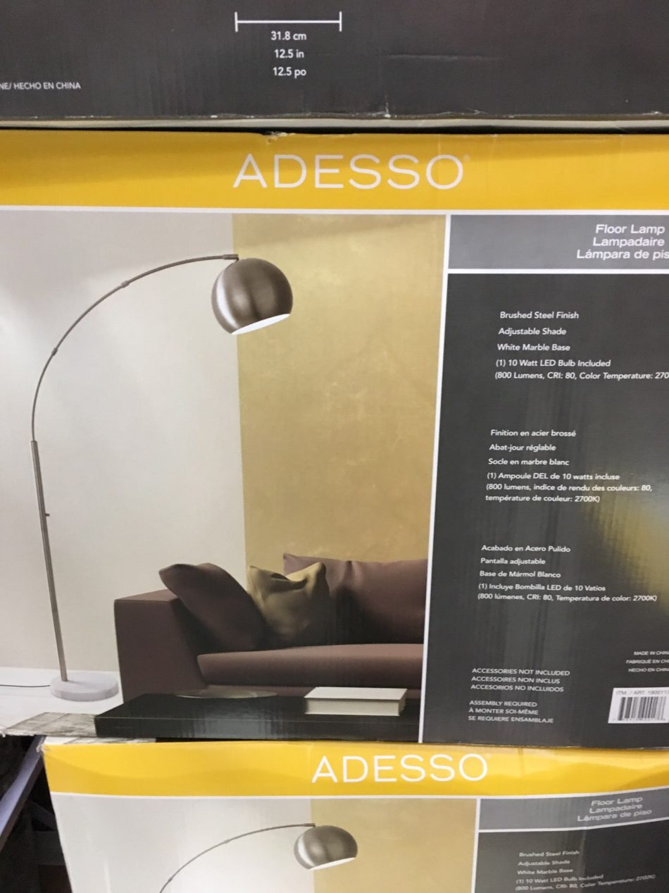 Adesso Arc Floor Lamp - 1900117
