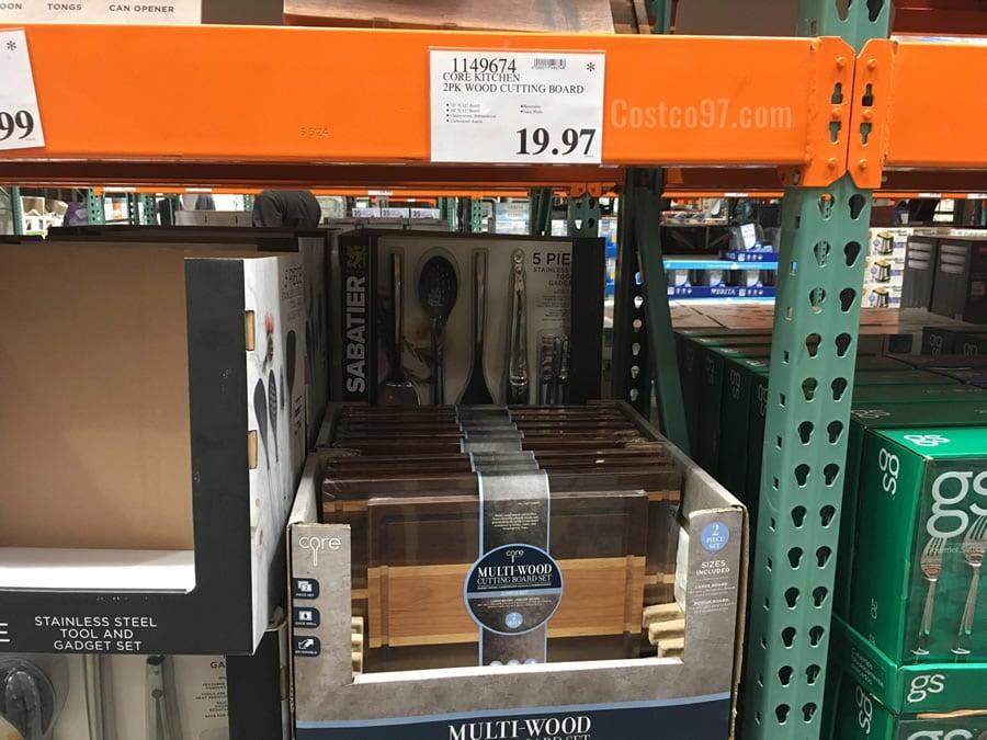 Core Kitchen Wood Cutting Boards - 1149674