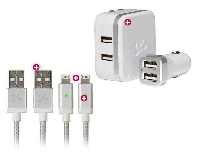 Ubio Labs Lightning Cable Charging Kit Costco97 Com