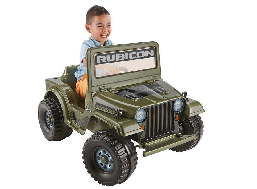 Power Wheels Jeep Rubicon Wrangler - 1187828