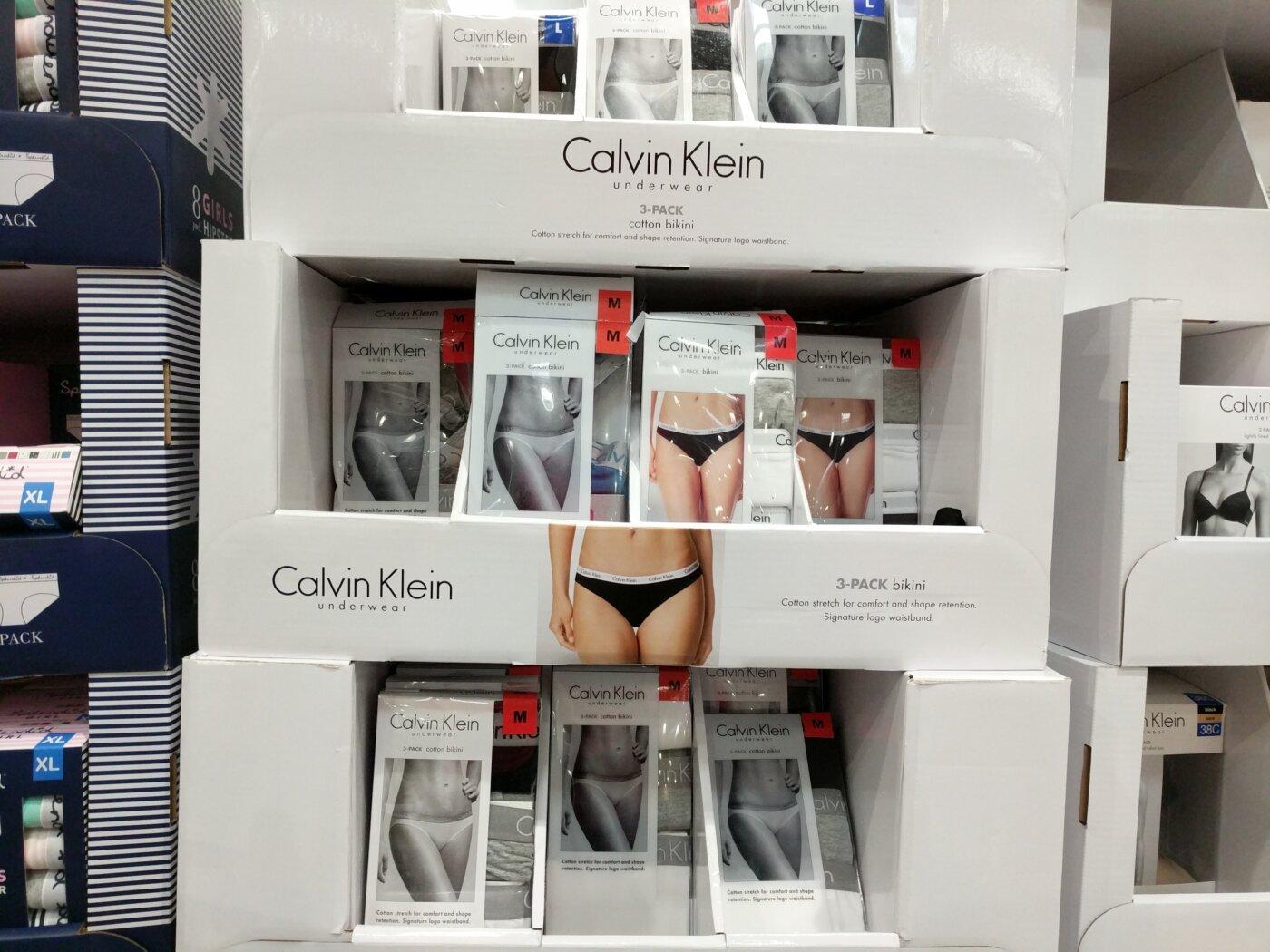 f14b4b6c8b Calvin Klein Ladies Cotton Stretch Bikini Underwear 3-pack ...