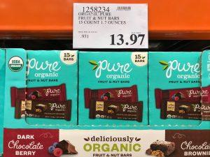 Organic Pure Fruit Nut Bars - 1258234
