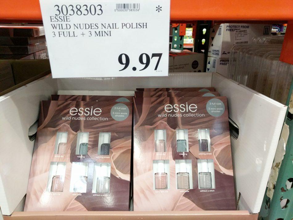 Essie Wild Nudes Nail Polish 6 Pack Costco97 Com