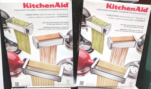 Kitchenaid 3 Piece Pasta Roller Cutter Set Costco97 Com