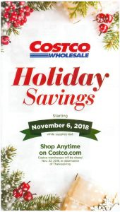 Costco Holiday Savings Book - Cover