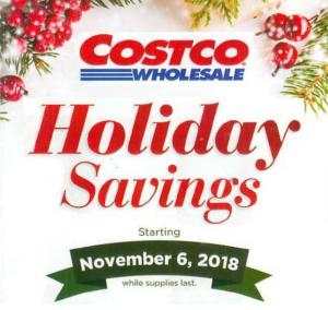 Costco Black Friday Ad 2018 Holiday Savings Book