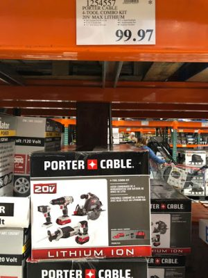 Porter Cable Combo Kit - 1254557