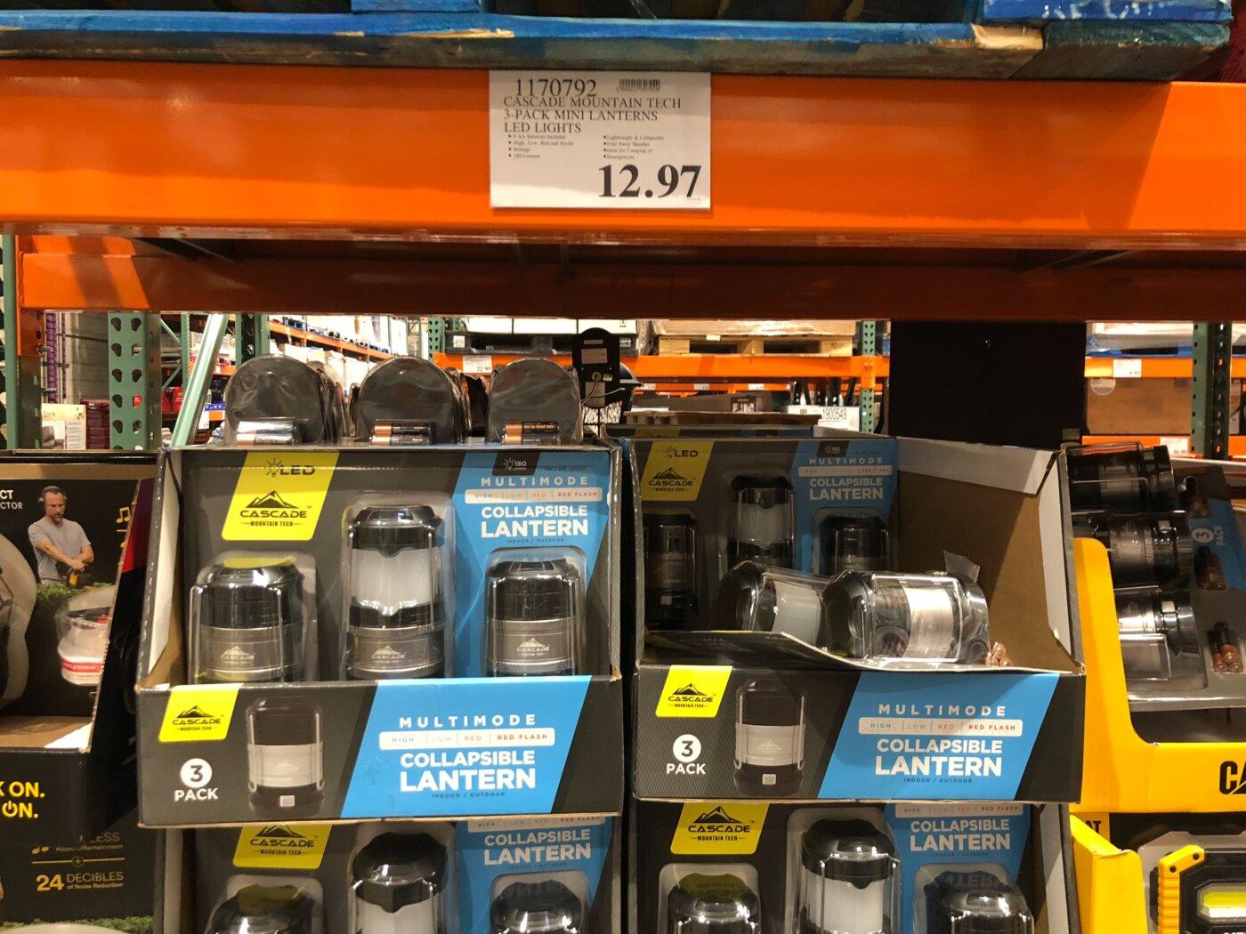 Cascade Mountain Tech Mini Lanterns - 1170792