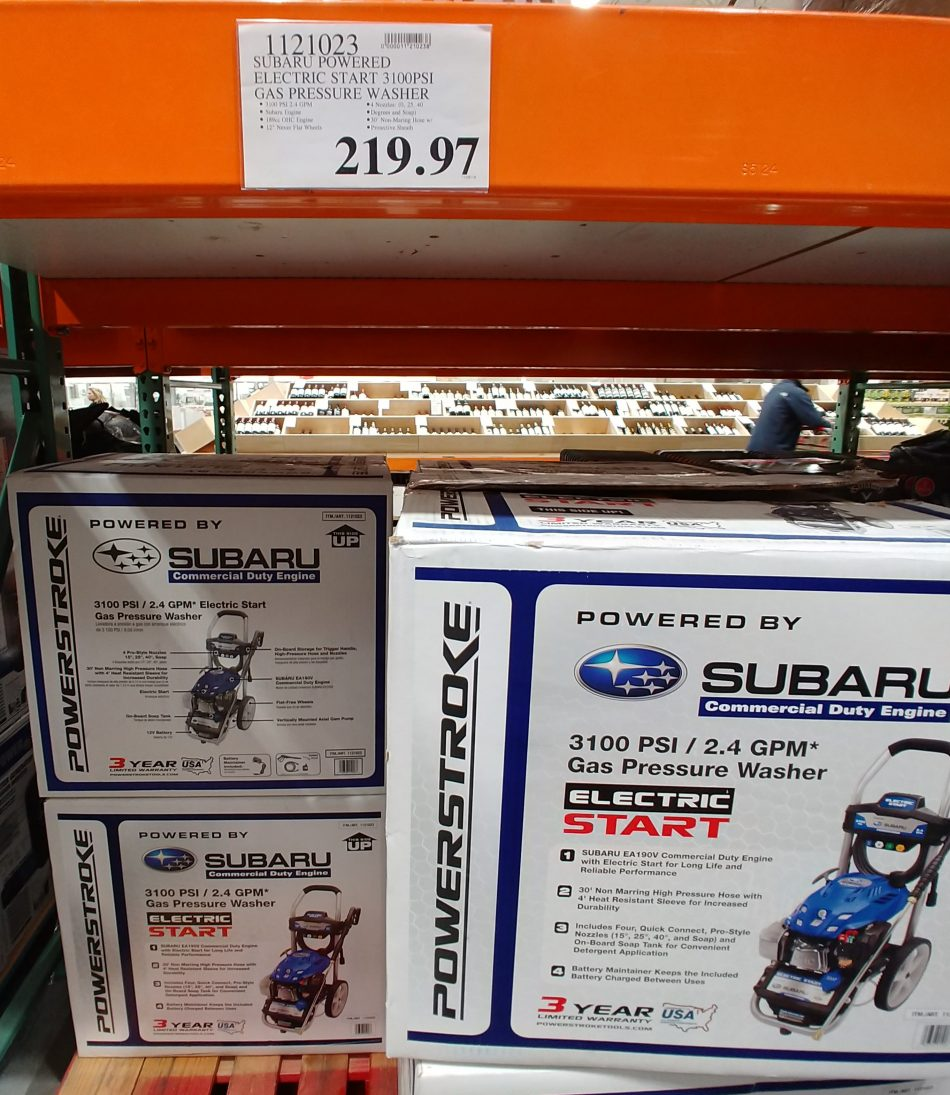 Subaru Gas Pressure Washer - 1121023