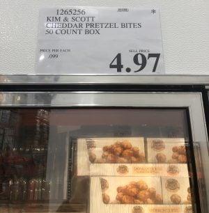 Cheddar Pretzel Bites