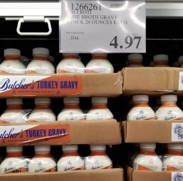 Butchers Turkey Bone Broth Gravy - 1266261