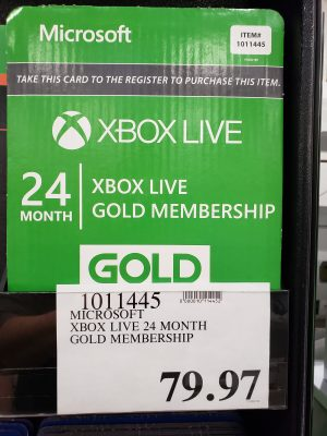 XBOX Live Gold - 24months - 1011445