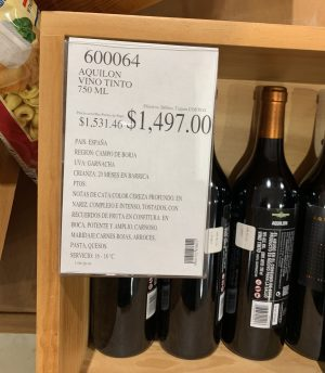 Aquilon Vino Tinto