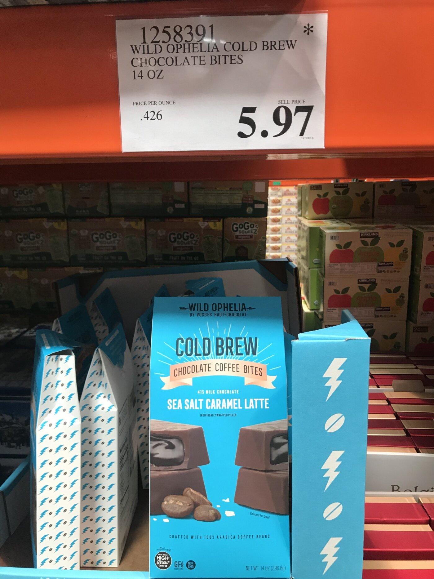 Wild Ophelia Cold Brew Chocolate Bites