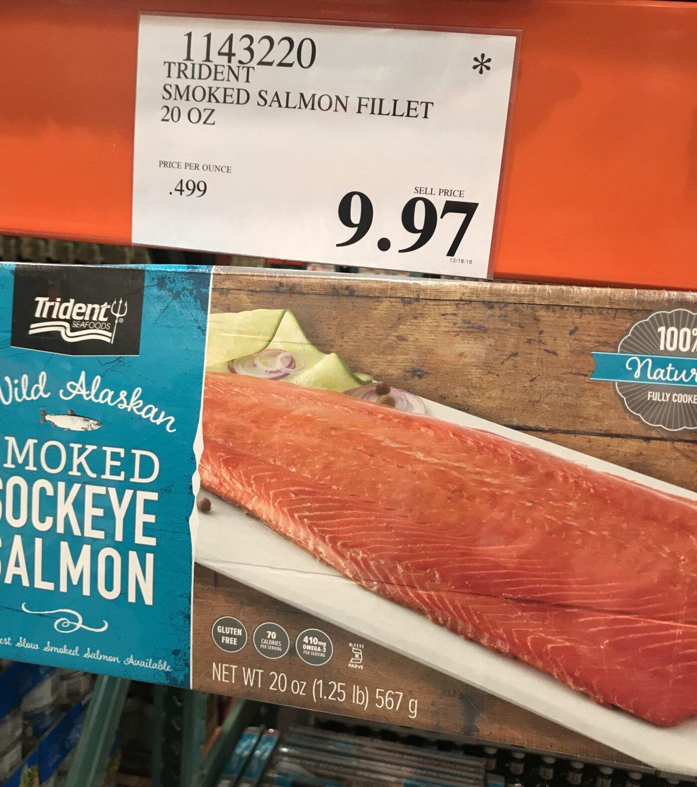 Trident Smoke Salmon Fillet