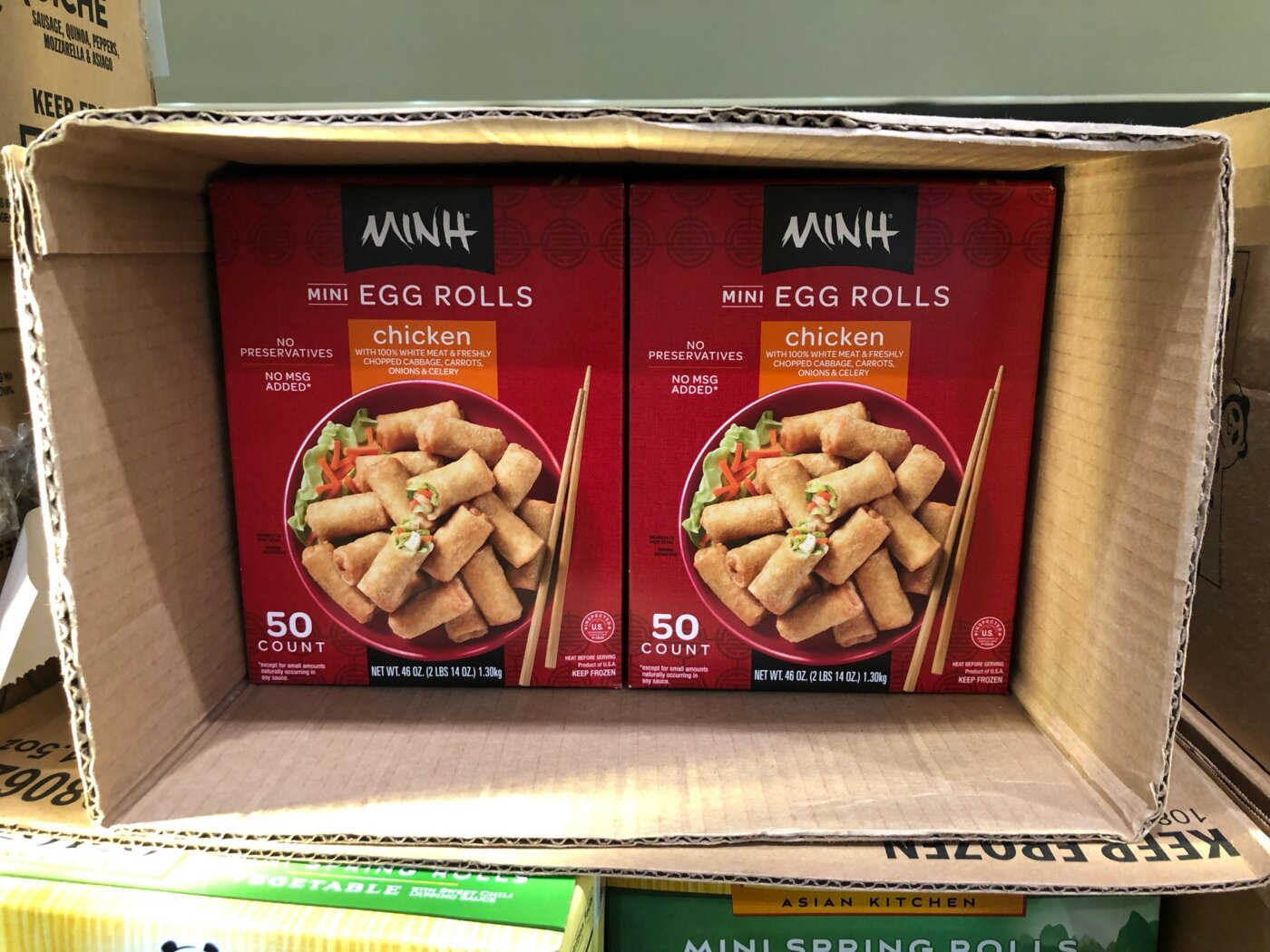 Minh Mini Egg Rolls - 1179403