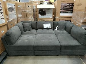 Fabric Modular Sectional Sofa