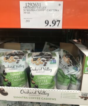 Orchard Valley Sumatra Coffee Cashews