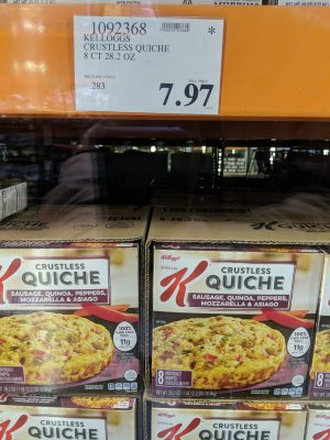 Kelloggs Crustless Quiche - 1092368