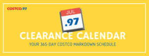 Costco Clearance Calendar - Your 365-Day Costco Markdown Schedule