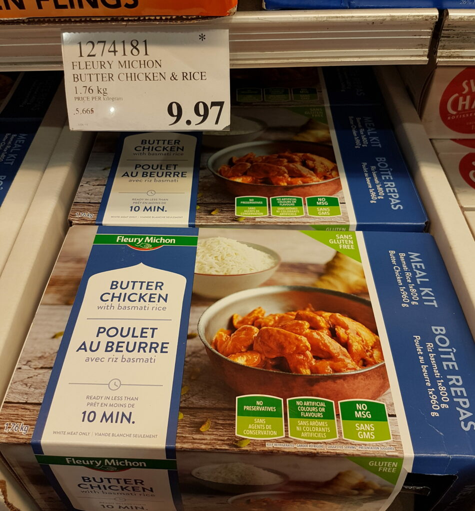 Fleury Michon Butter Chicken Rice Costco97 Com
