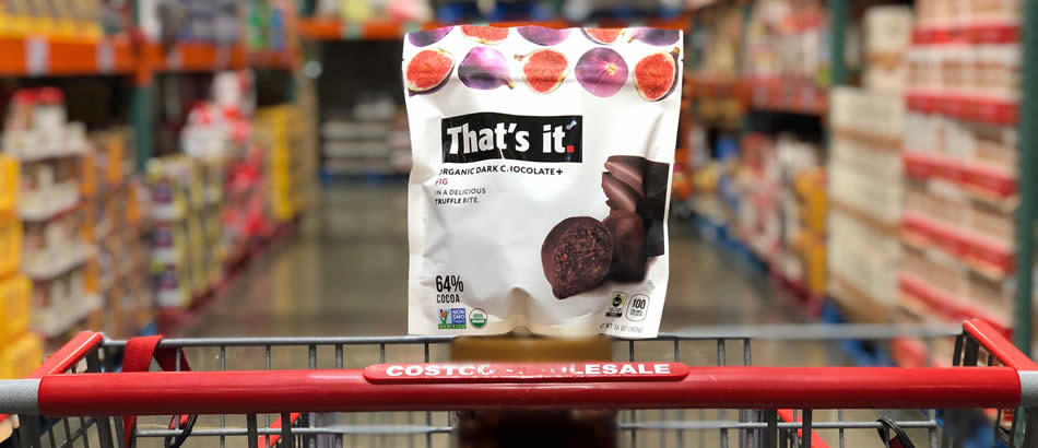 ThatsIt Fig + Chocolate Truffles at Costco