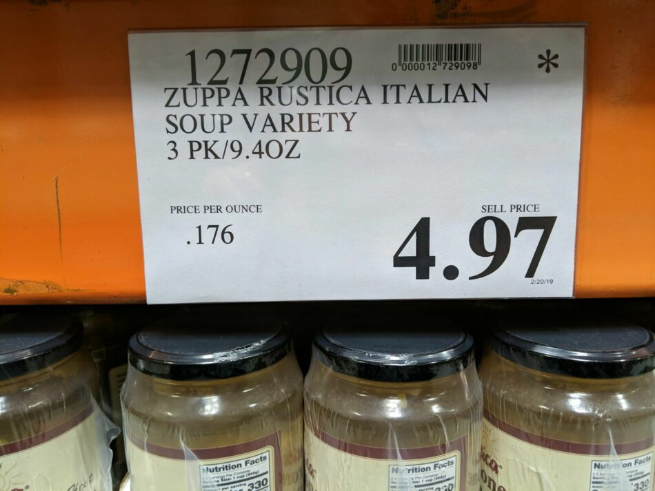 Zuppa Rustica Italian Soup Variety Pack - 1272909