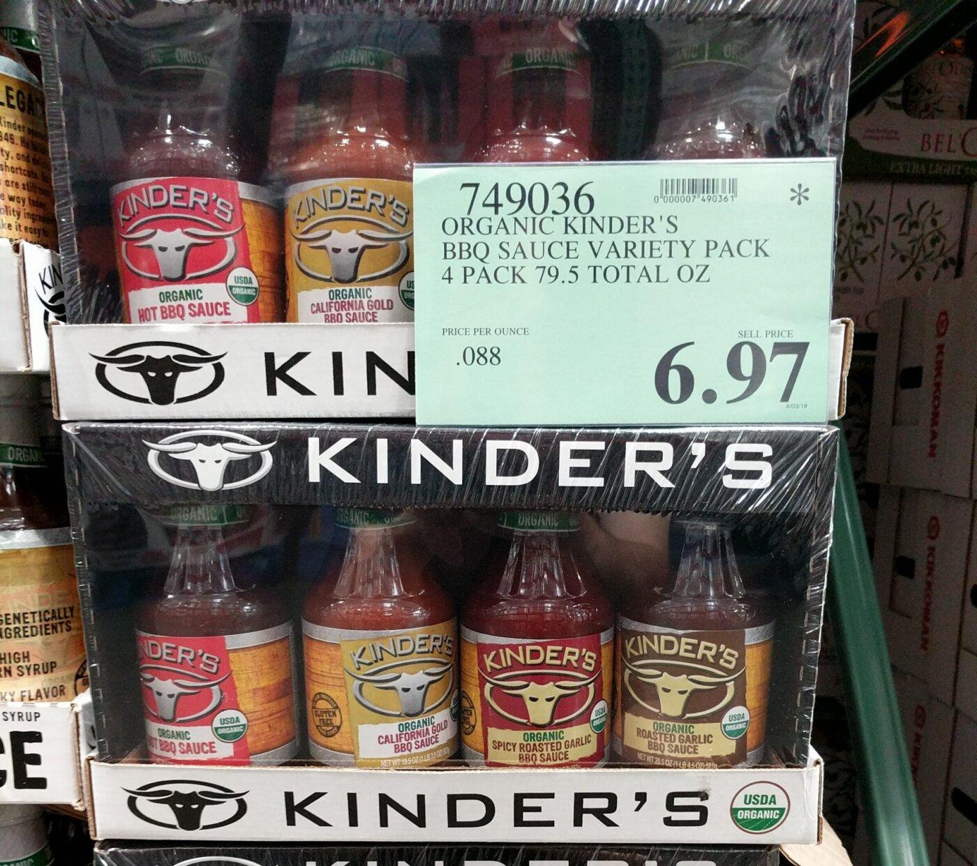 Kinders BBQ Sauce