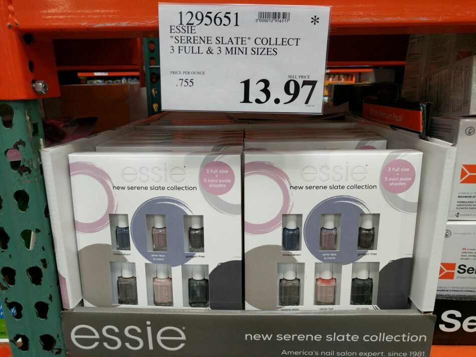 Essie Serene Slate Collection Nail Polish Costco97 Com