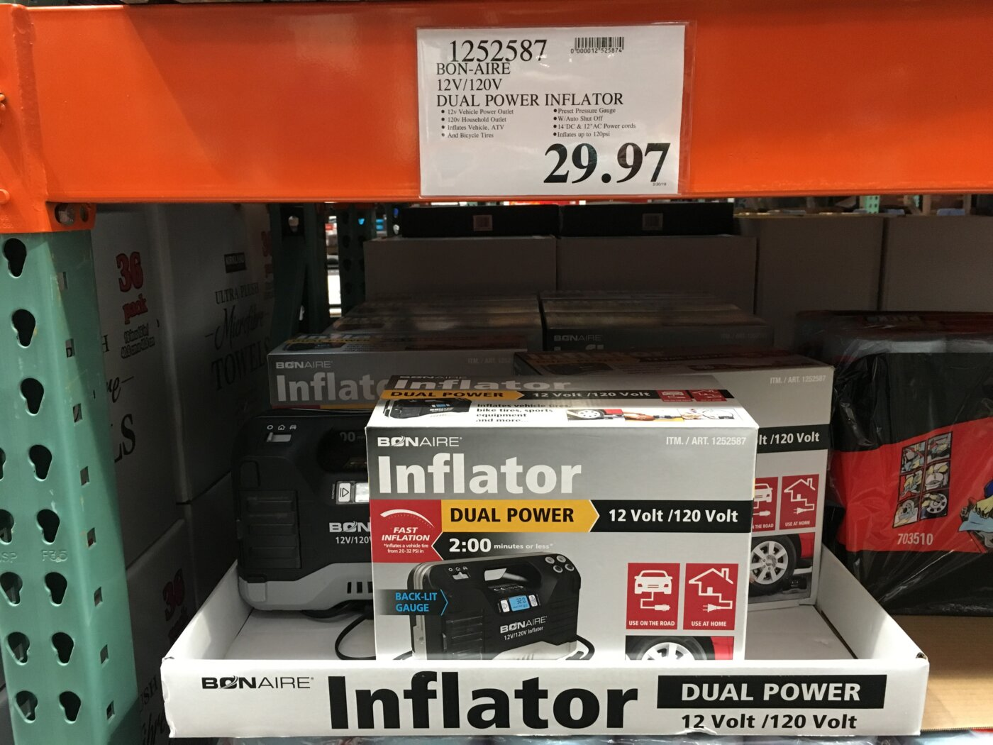 Bon Aire Inflator - 1252587