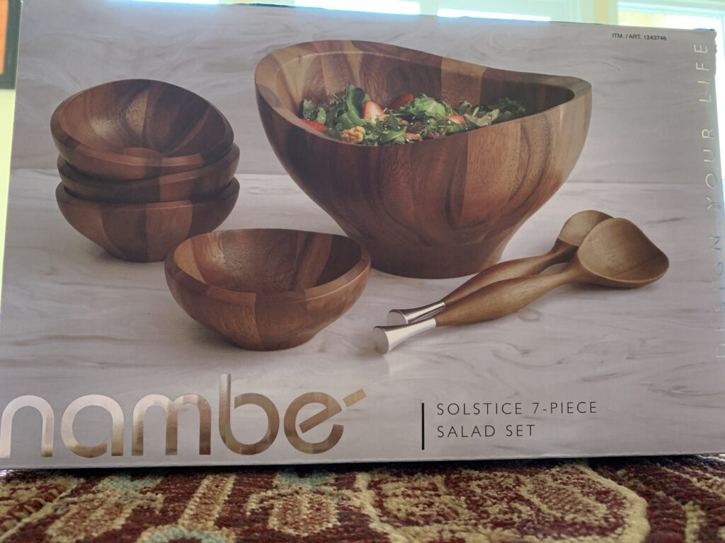 Nambe Solstice Salad Set