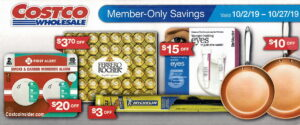 Costco October 2019 Coupon Book
