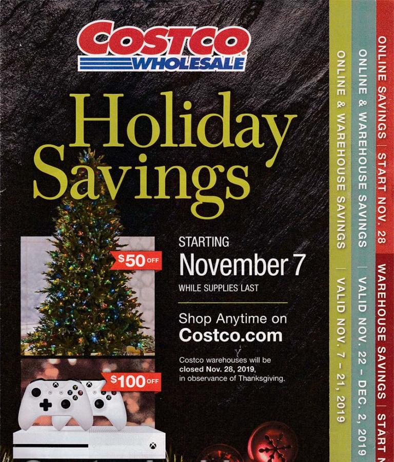 Costco Black Friday 2019 Holiday Savings Book Costco97 Com