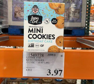 Lesser Evil Mini Cookies 1549778